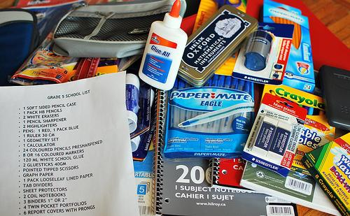 School supplies shopping made easy