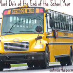 3 Must Do's at the End of the School Year