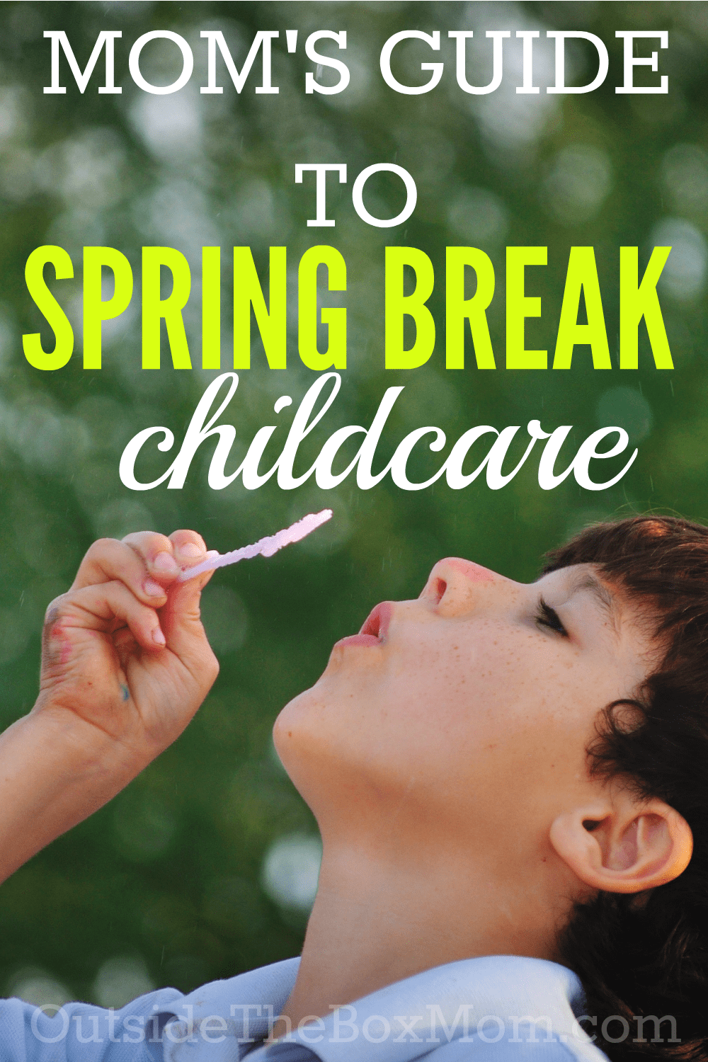 Are you facing the same challenge lots of working mothers are facing during the next few weeks: what will I do for Spring break childcare AND how do I keep my child entertained?