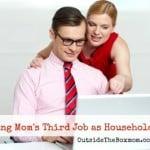 Working Mom's Third Job as Household CFO?