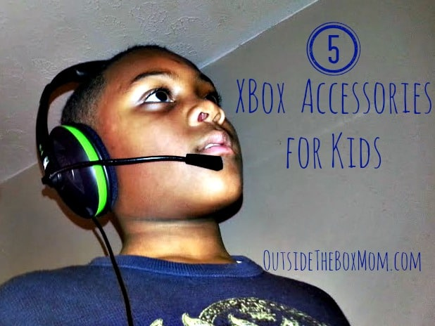 Top Five XBOX Accessories For Kids {Fun Things for Summer}