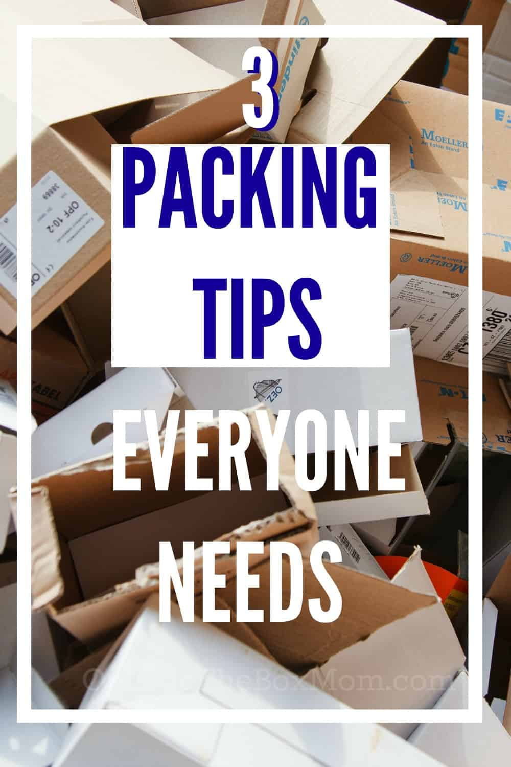 When it comes to your next move, does your checklist include the three most important packing tips?