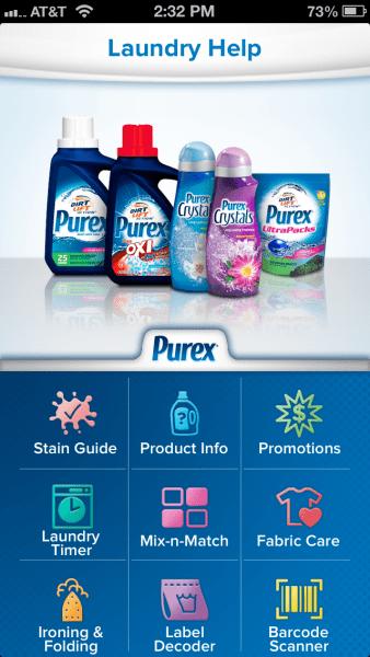purex-laundry-app