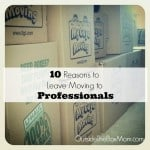 10 Reasons You Should Leave Moving to Professionals