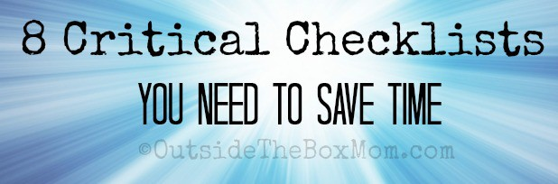 checklists-save-time