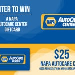 {CLOSED} NAPA AutoCare $25 Gift Card #Giveaway