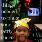 Top Three Things Needed to Make a Party a Success