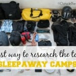 Top Five Things to Consider In a Sleepaway Camp