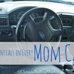 Essentials in Every Mom's Car