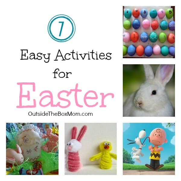 Make memories with your family this Easter by decorating Easter eggs, filling an Easter basket, and spending time together doing these easy activities for Easter.