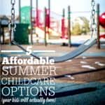 Summer Childcare Options