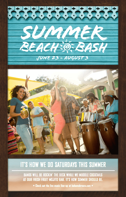 Have Your Next Moms' Night Out at Bahama Breeze
