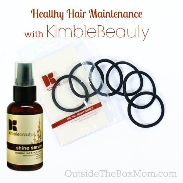 Healthy Hair Maintenance Products from KimbleBeauty