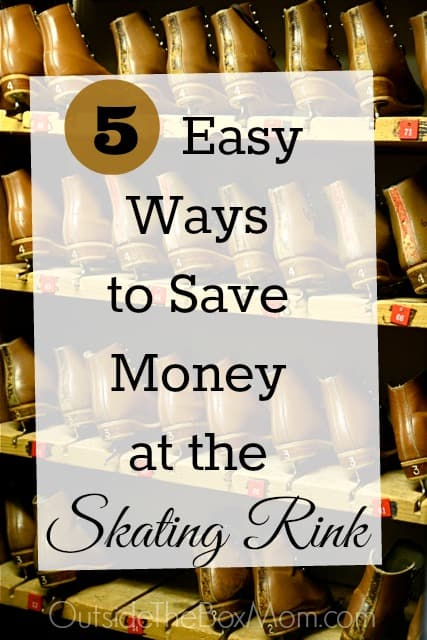 Save Money at the Skating Rink {Fun Things to Do in the Summer}