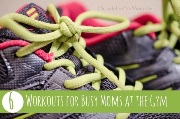Every busy mom can find 30 minutes in her day to get in a quick workout. Outsidetheboxmom.com