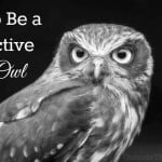 How to Be a Productive Night Owl