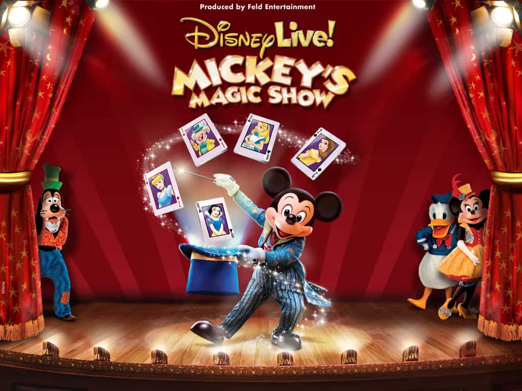 Disney Live! Mickey's Magic Show (Roanoke, VA) #Giveaway