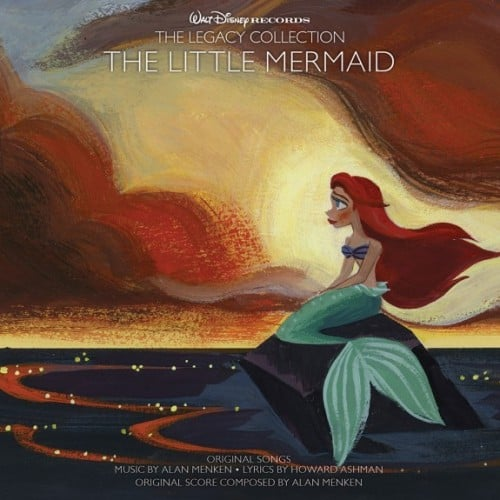 The Little Mermaid CD from Walt Disney Records The Legacy Collection