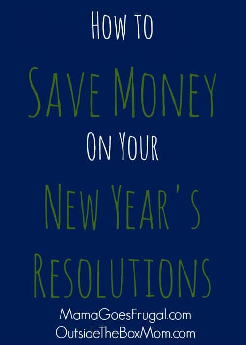 How to Save Money On Your New Year's Resolutions