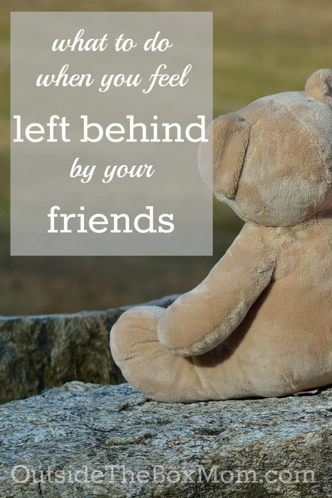 What to Do When You Feel Left Behind By Your Friends