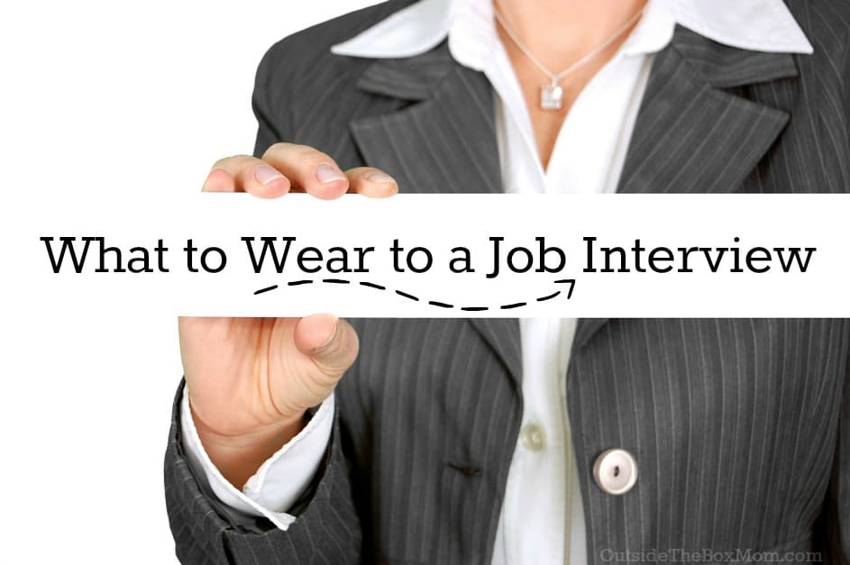 What to wear to a job interview at applebees