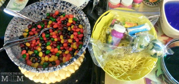 DIY Kid Made Easter Basket | OutsideTheBoxMom.com