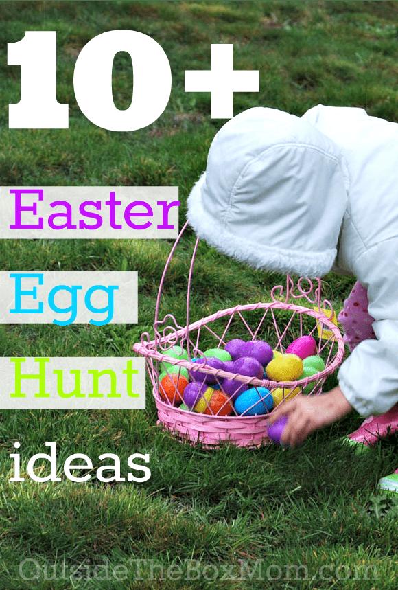 Easter Egg Hunt Ideas | Outsidetheboxmom.com