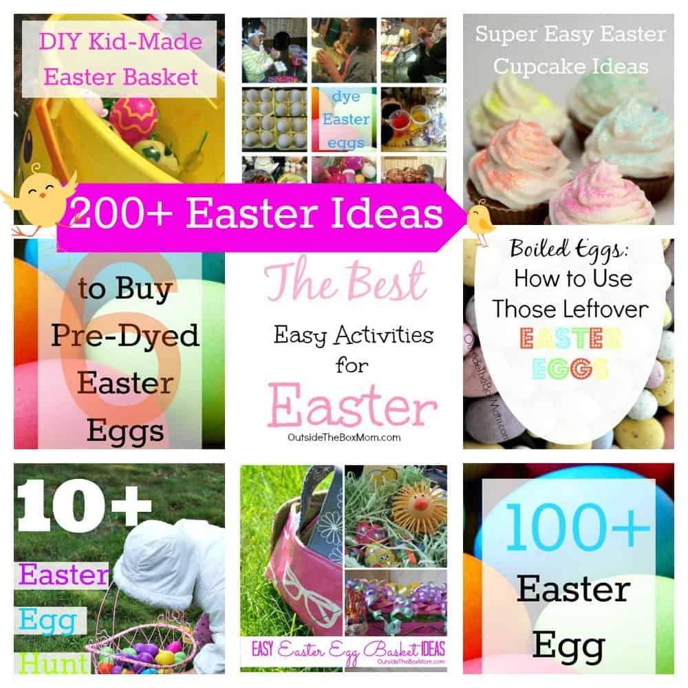 200+ Easter Ideas | Outsidetheboxmom.com