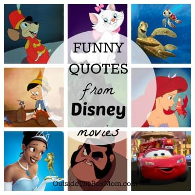 Funny Disney Movie Quotes that will Surely Make you
