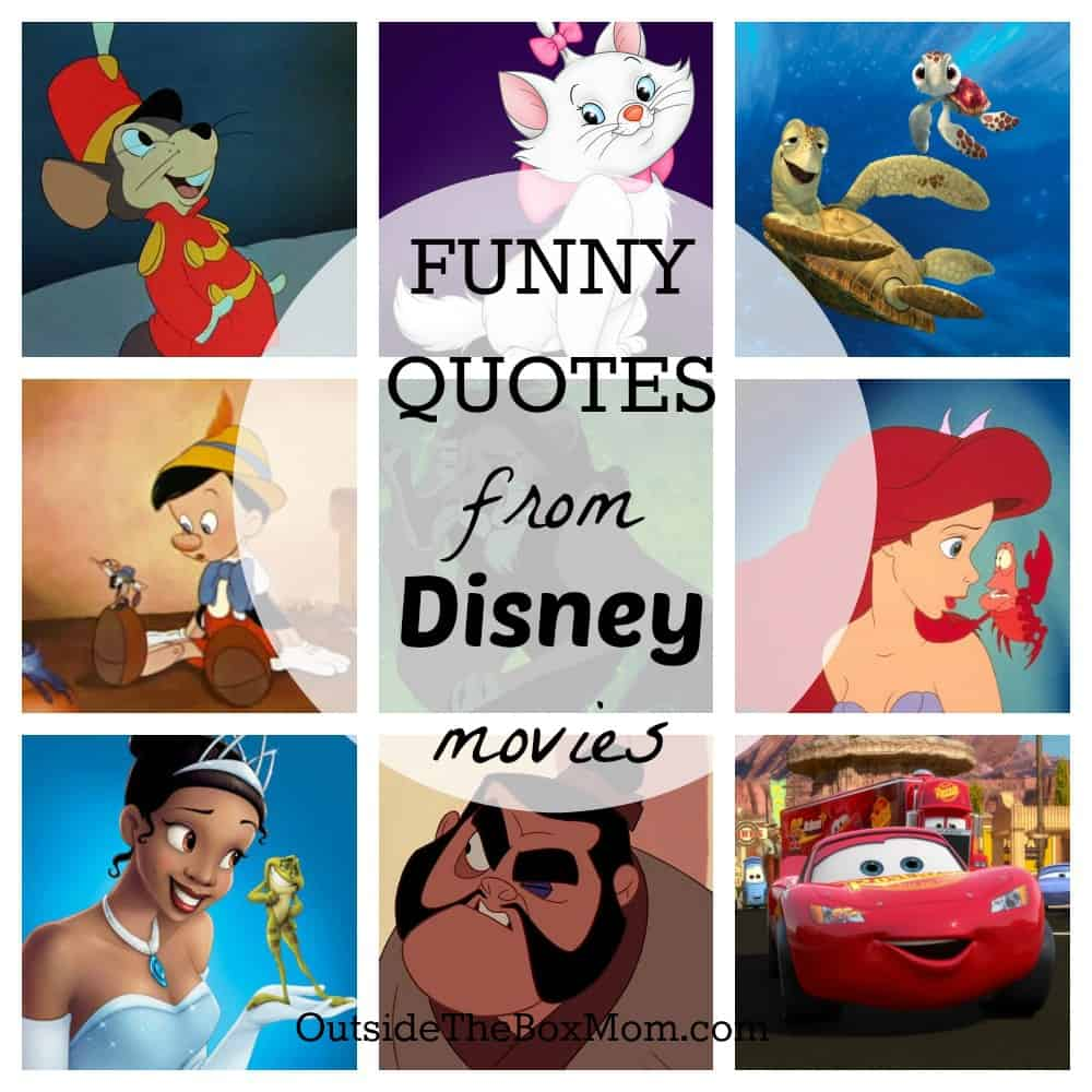 Funny Disney Quotes