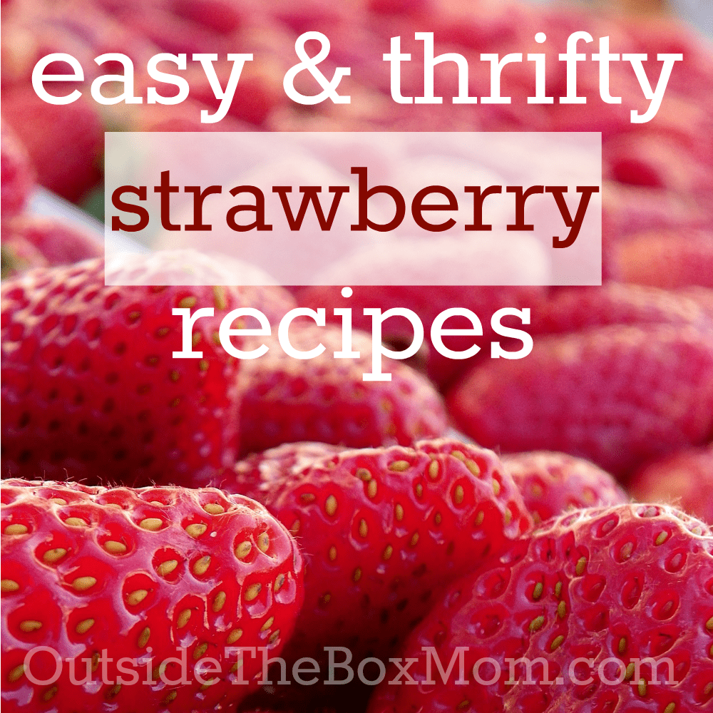 Thrifty Strawberry Recipes