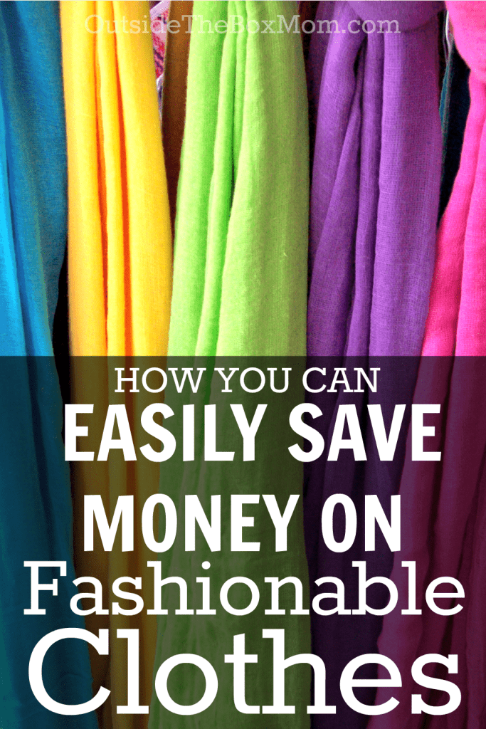 Anyone can stay within their personal budget and still feel confident with the clothes they wear. There are lots of ways to save money while still keeping up with the newest trends in fashion.  | OutsideTheBoxMom.xom