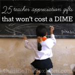 25 Teacher Gifts That Won't Cost You a Dime