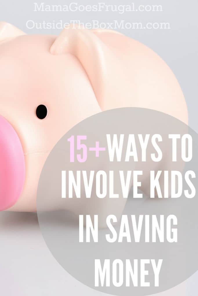 Kids can bring a different perspective, enthusiasm, and energy to the family's frugal living efforts. Find out which tactics encourage your kids to reduce expenses and in turn save your family some serious cash . | Outsidetheboxmom.com