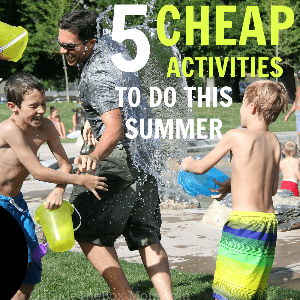 5 Cheap Summer Activities for Kids