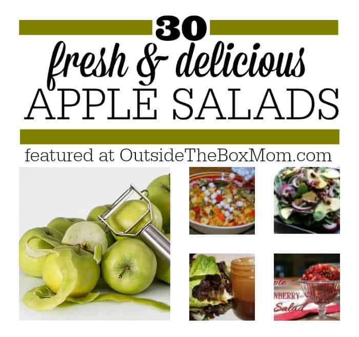 Over 30 Fresh & Delicious Apple Salad Recipes