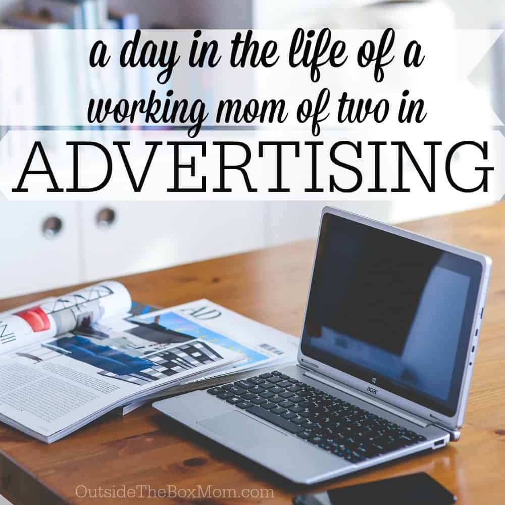 Have you ever wondered what a day in the life of another working mom is like? Read about A Day in the Life of a Working Mom in Advertising.