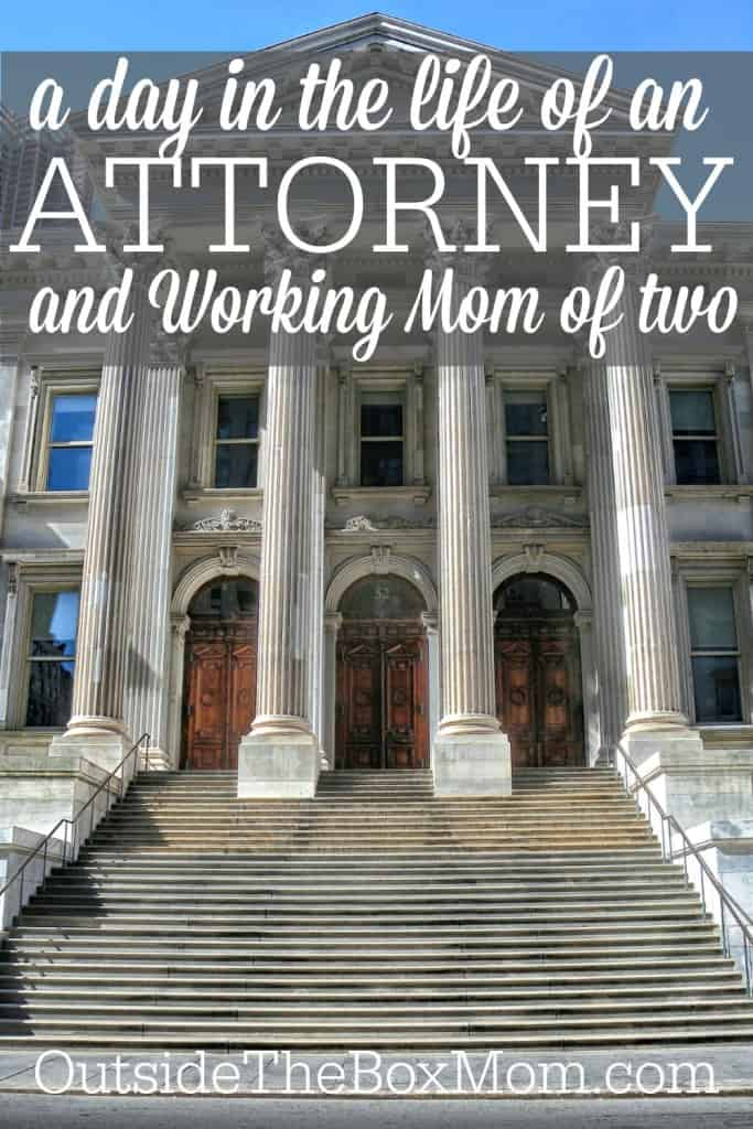 Have you ever wondered what a day in the life of another working mom is like? Read about A Day in the Life of a Single, Working Mom & Corporate Attorney