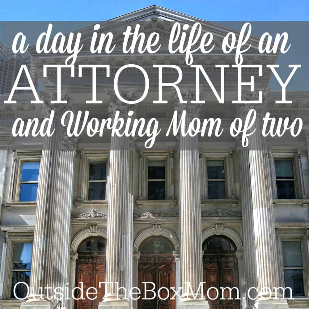 A Day in the Life of a Single, Working Mom & Corporate Attorney