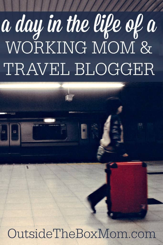Have you ever wondered what a day in the life of another working mom is like? Learn about the life of a working mom and travel blogger.