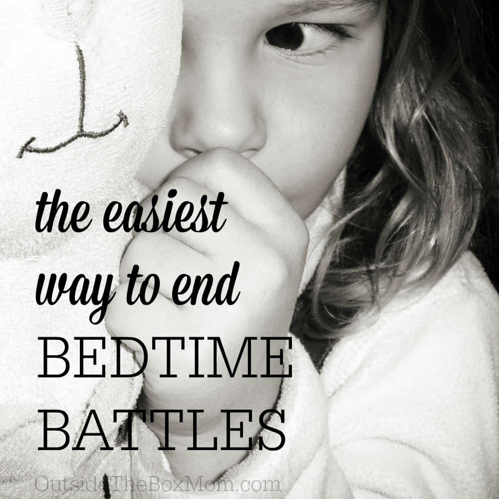 The Easiest Way to End Bedtime Battles