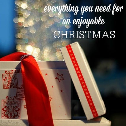 Everything you need for an enjoyable Christmas including ways to spread holiday cheer, present ideas, decorating ideas, Advent, books, movies, and ways to reduce stress.