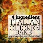 Italian Chicken Bake