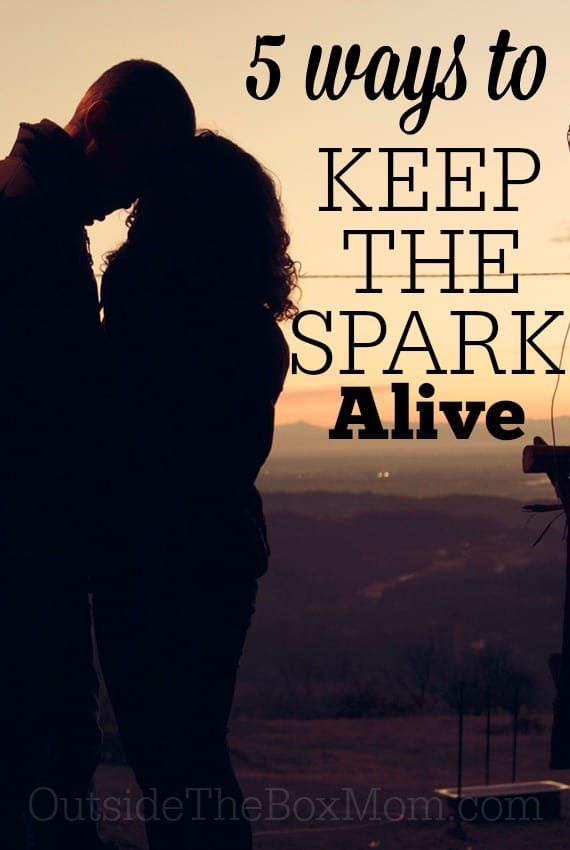 After years together, it can be easy to lose that early love spark. Here are the little things you can do to keep the spark alive.