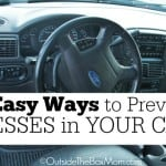 5 Easy Ways to Prevent Messes in Your Car