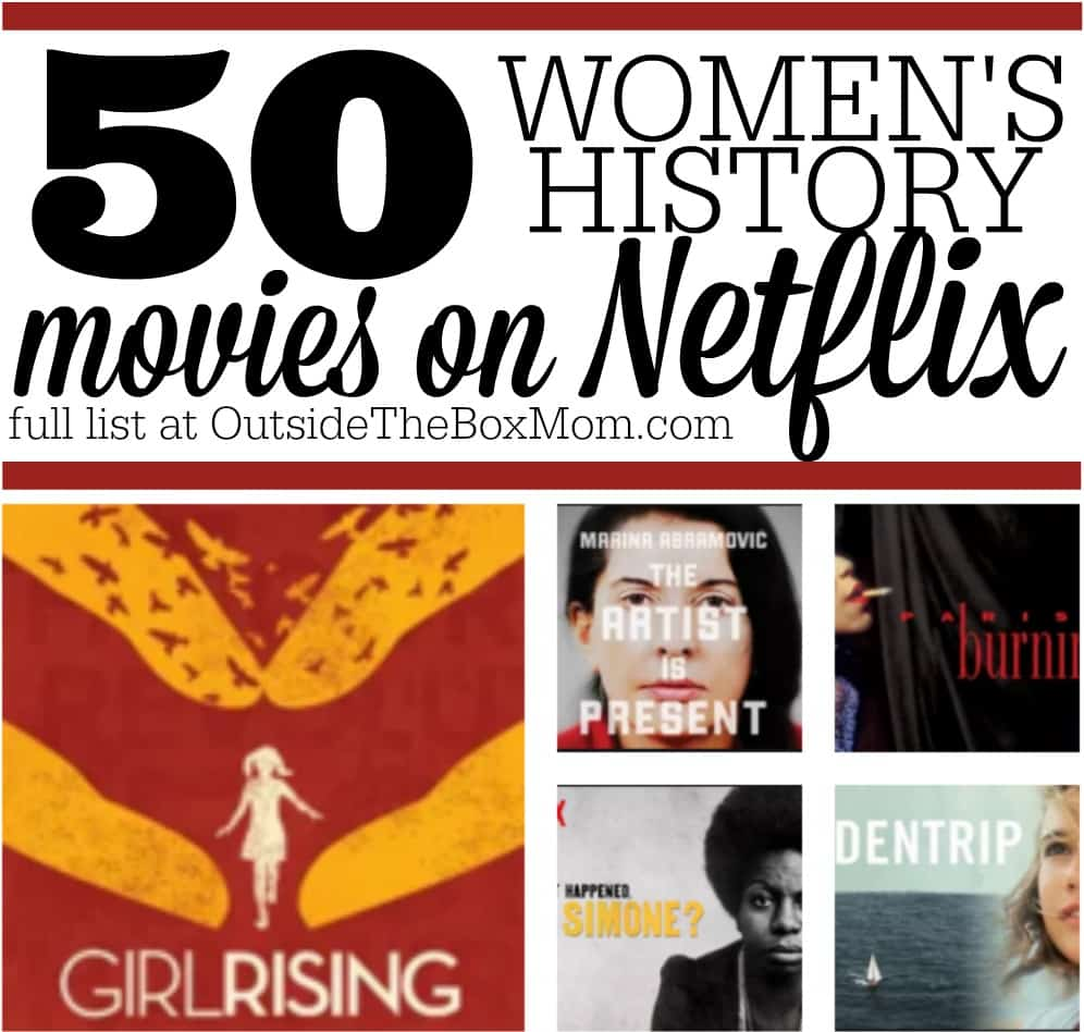 50 Women's History Movies on Netflix