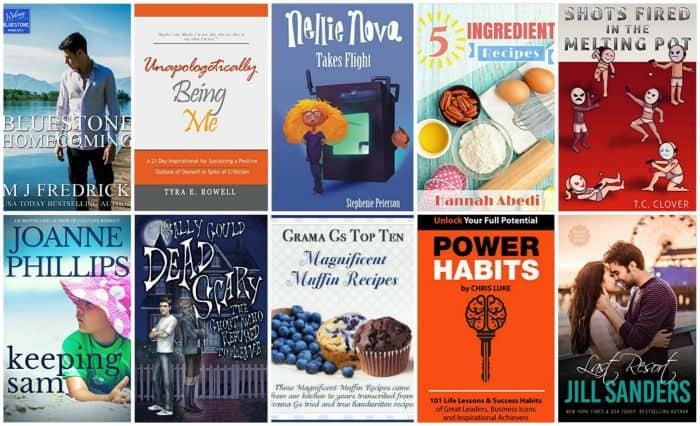 Free Kindle Ebooks –4/25/16