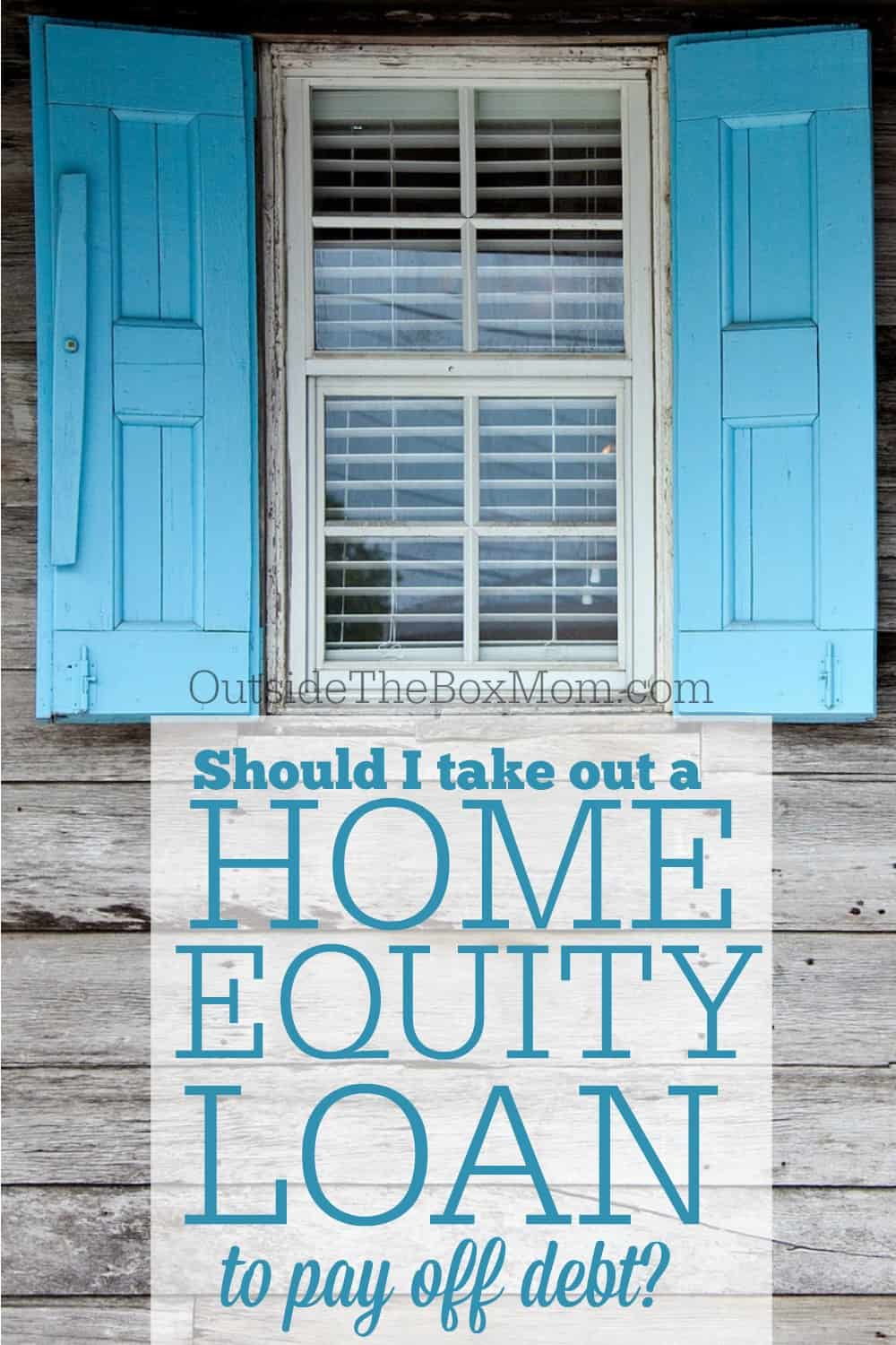 Home Equity Loan Debt Consolidation Good Idea Home Ideas