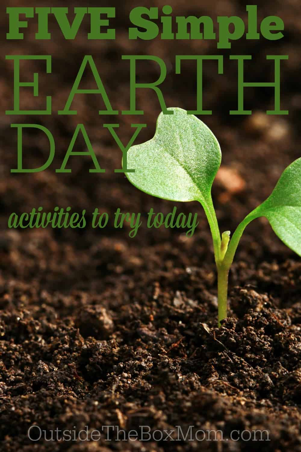 Earth Day may only come around once a year, but these practical (and simple) Earth Day activities are sure to help your family make a difference.