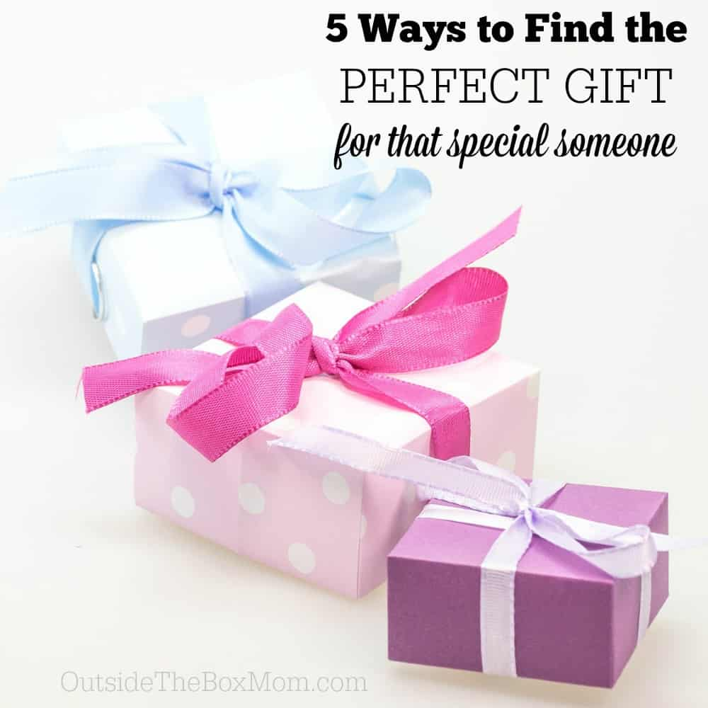 5 Ways to Find the Perfect Gift